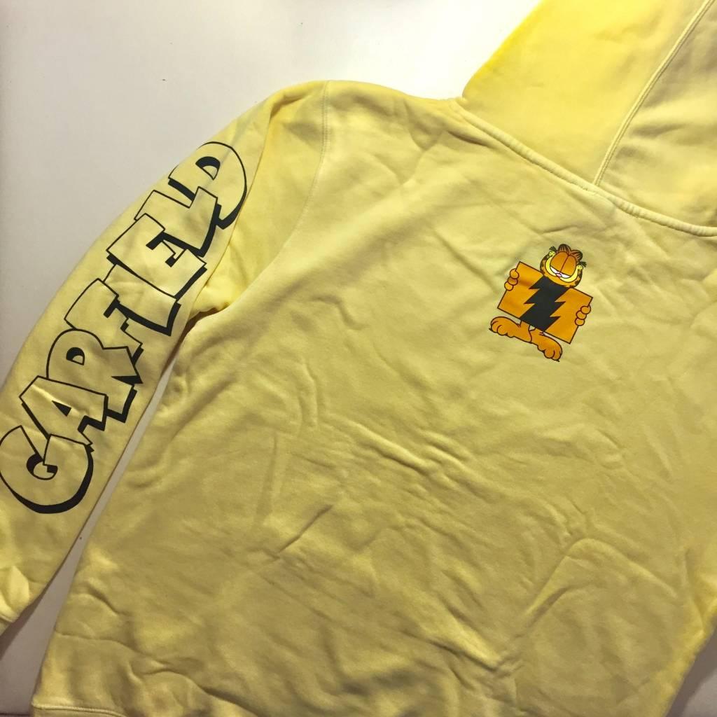 THE HUNDREDS Garfield Flag Hoody Pigment Yellow
