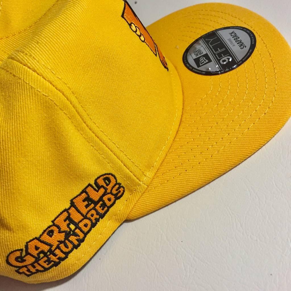THE HUNDREDS Garfield Flag SnapBack Hat Orange