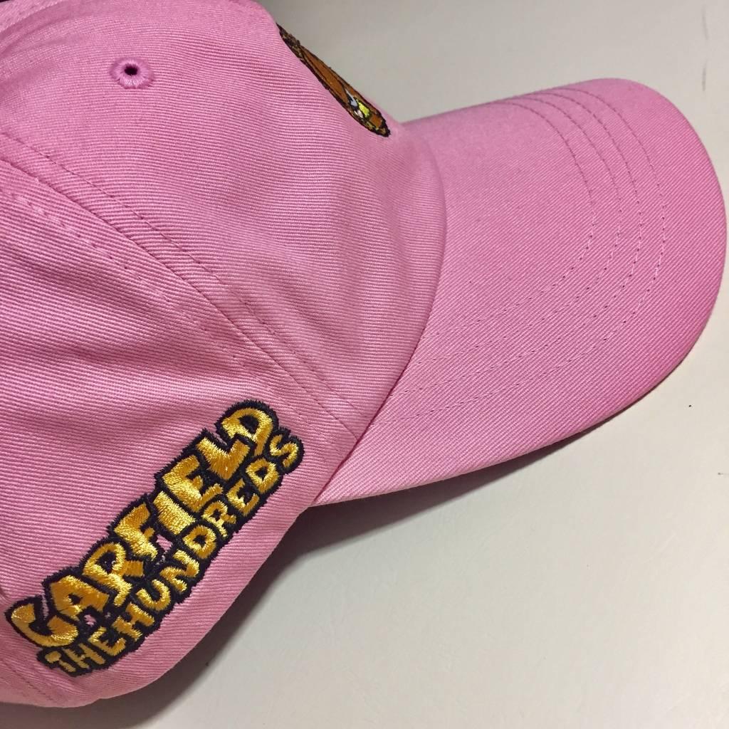 THE HUNDREDS Garfield Mood Dad Hat Light Pink