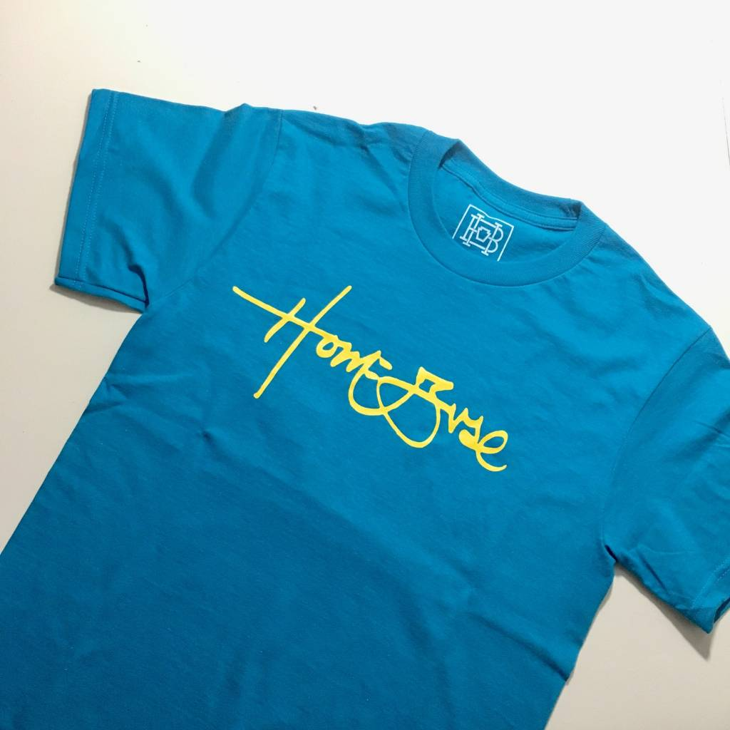 HOMEBASE SOFTGOODS Signature T-shirt Teal