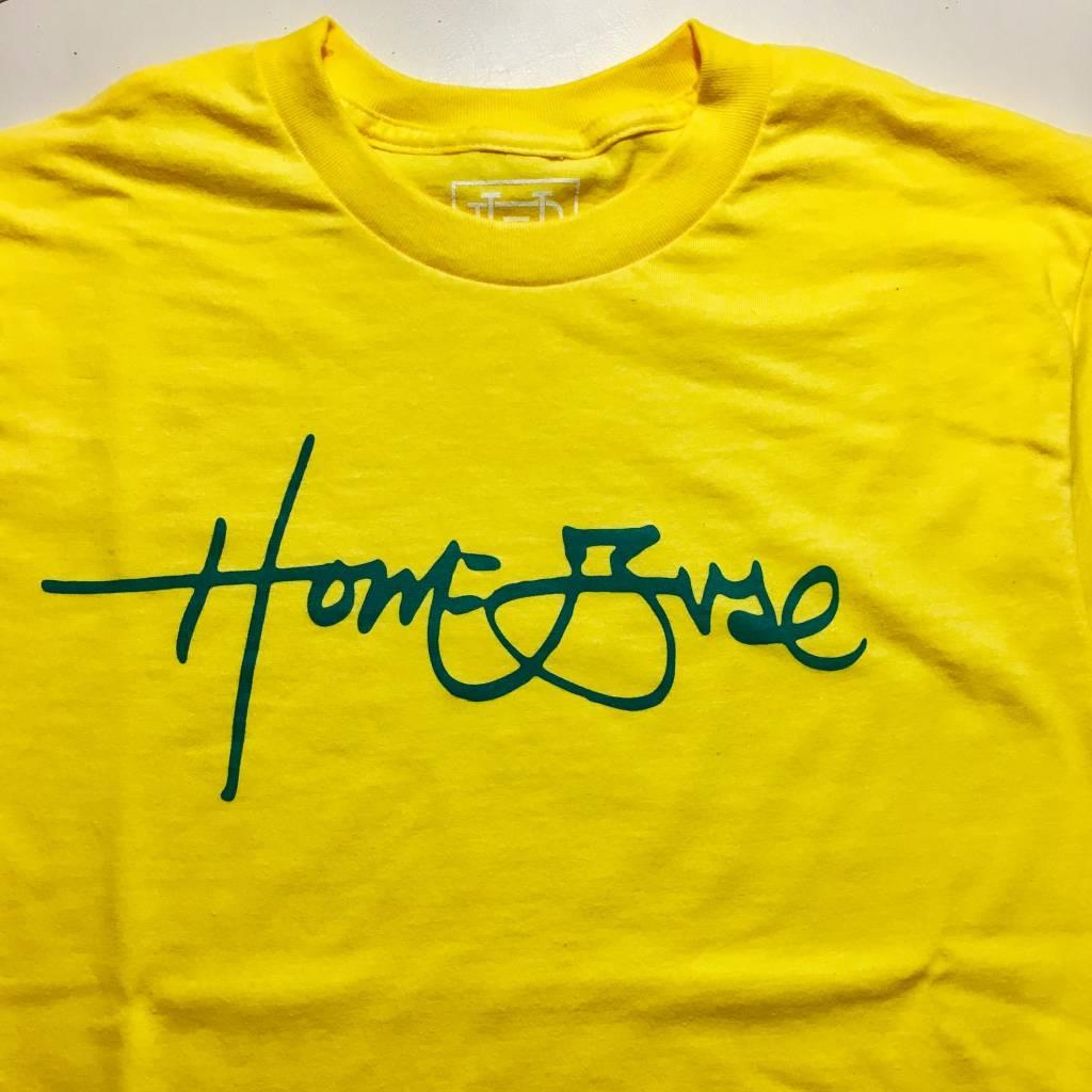 HOMEBASE SOFTGOODS Signature T-shirt Yellow