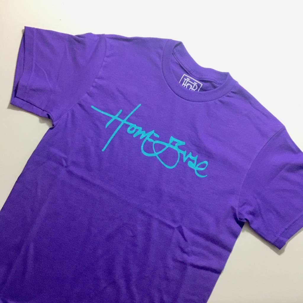 HOMEBASE SOFTGOODS Signature T-shirt Purple