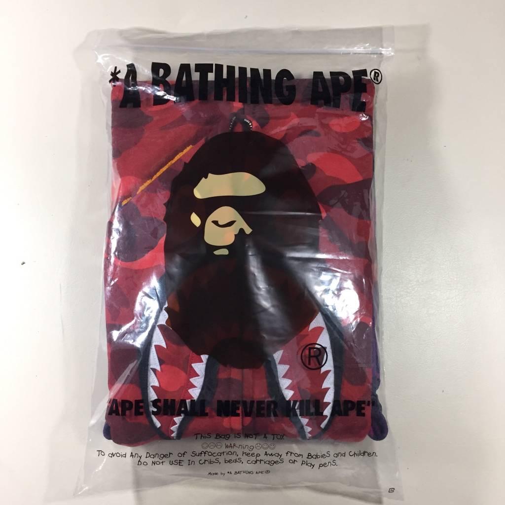 BAPE BAPE Multi Camo Shark Hoodie LG