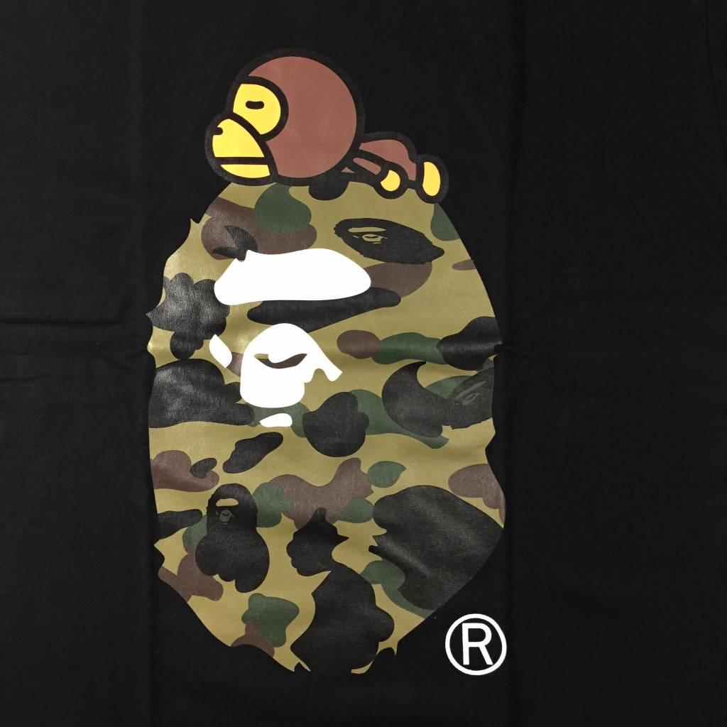 BAPE BAPE Baby Milo on Big Head T-Shirt Black XL