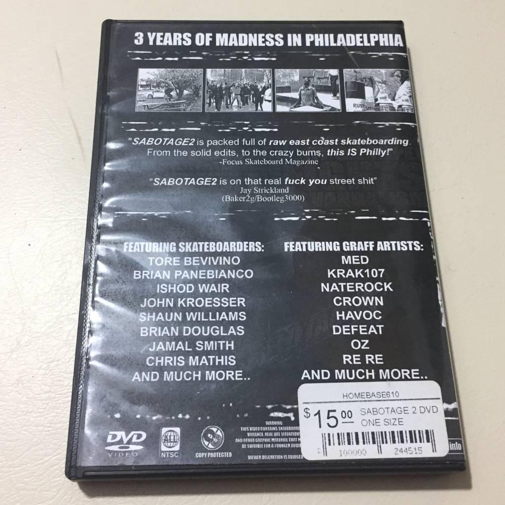 SABOTAGE 2 DVD  ONE SIZE
