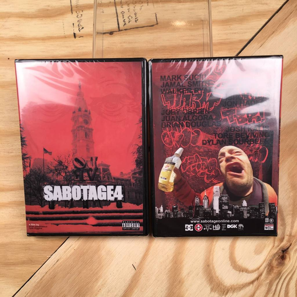 SABOTAGE PRODUCTION SABOTAGE 4 DVD