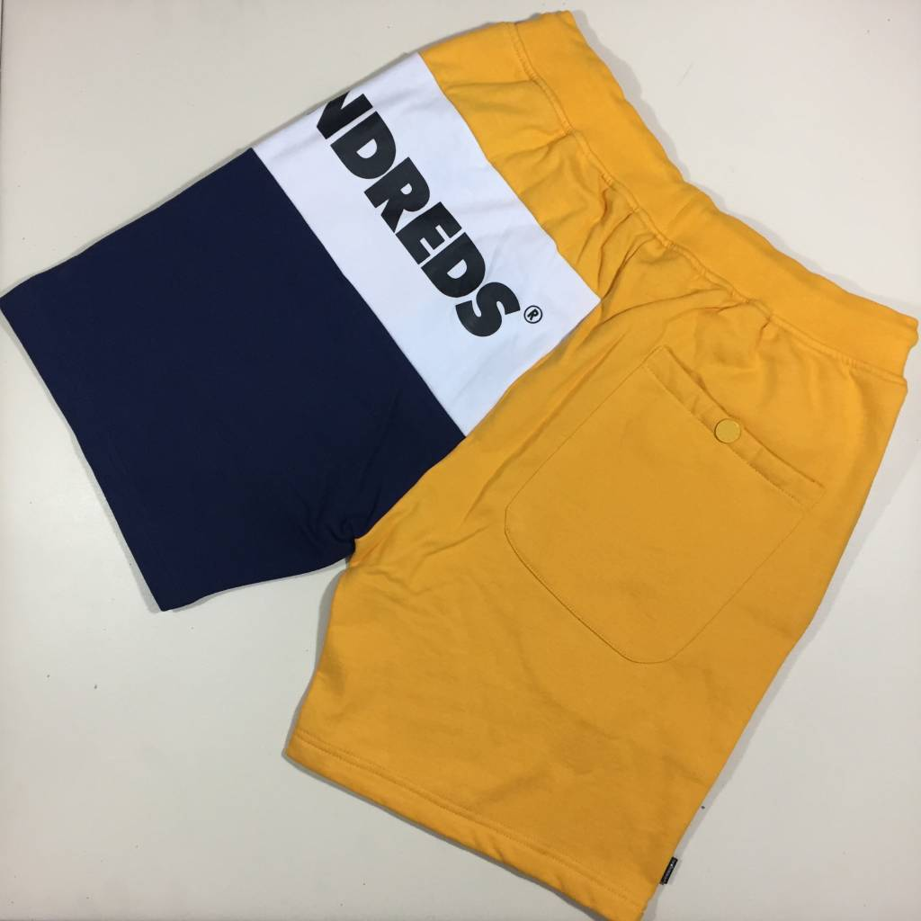 THE HUNDREDS Lodge Sweatshorts Yellow