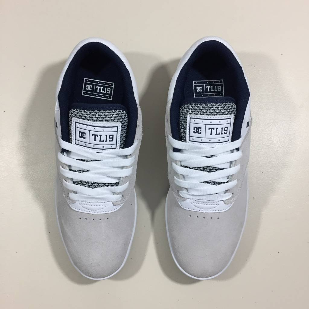 DC SKATE SHOE CO. Tiago Pro Shoe White / Navy