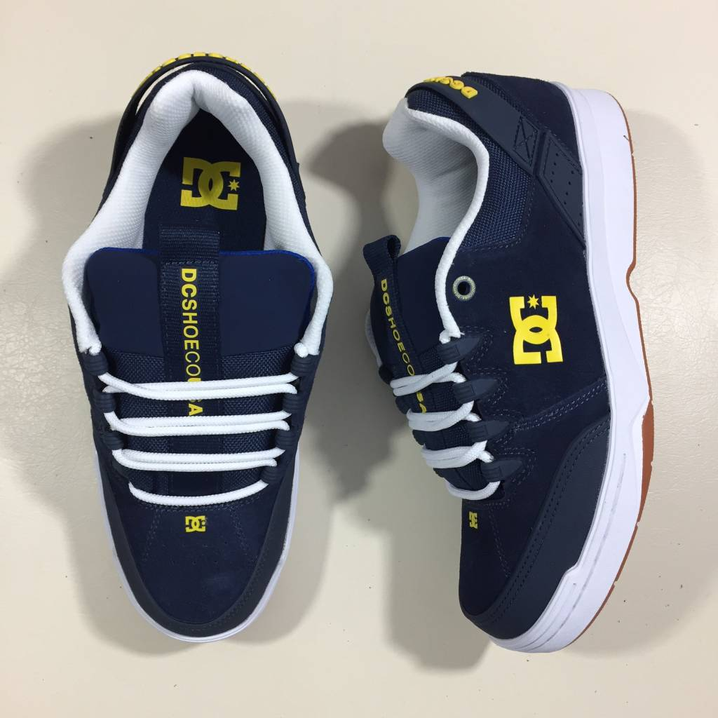 DC SKATE SHOE CO. Syntax Shoe Navy / White