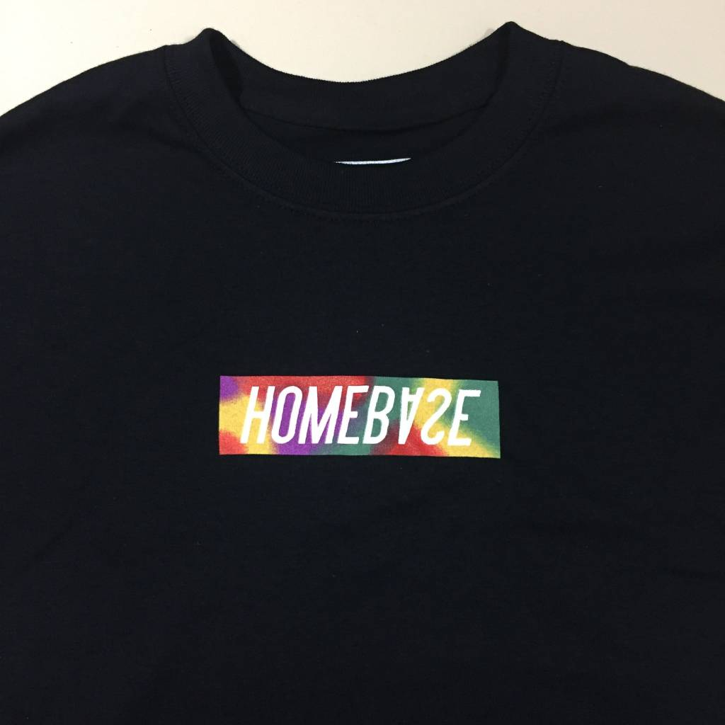 HOMEBASE SOFTGOODS Bar Logo T-Shirt Black