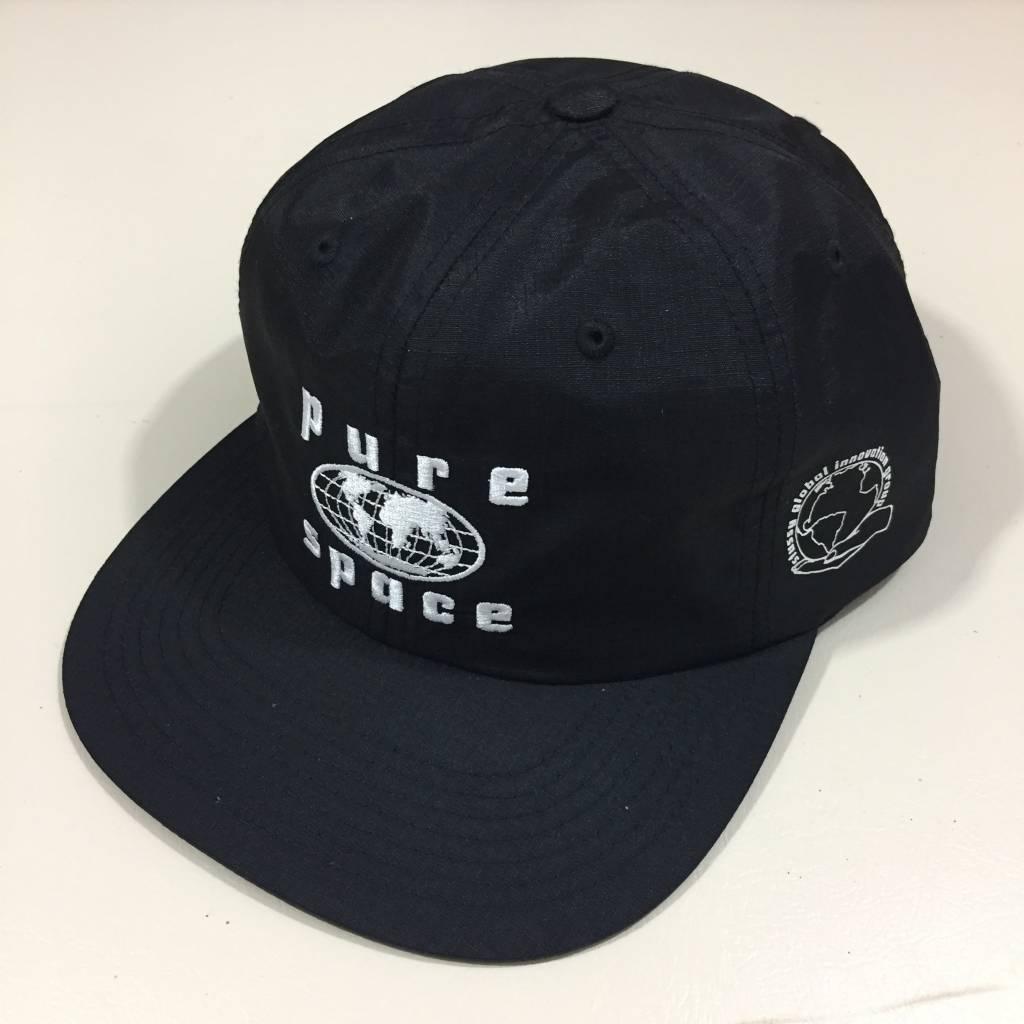 STUSSY Pure Space Strapback Hat Black