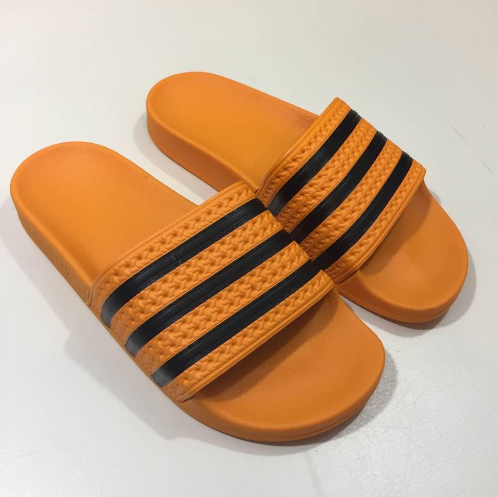 ADIDAS FOOTWEAR Adilette Slide Sandal Orange