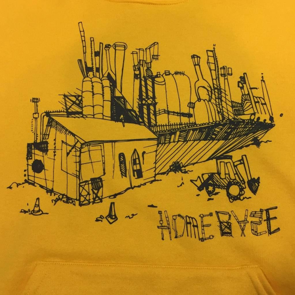 HOMEBASE SOFTGOODS Steel Sketch Hoodie Yellow
