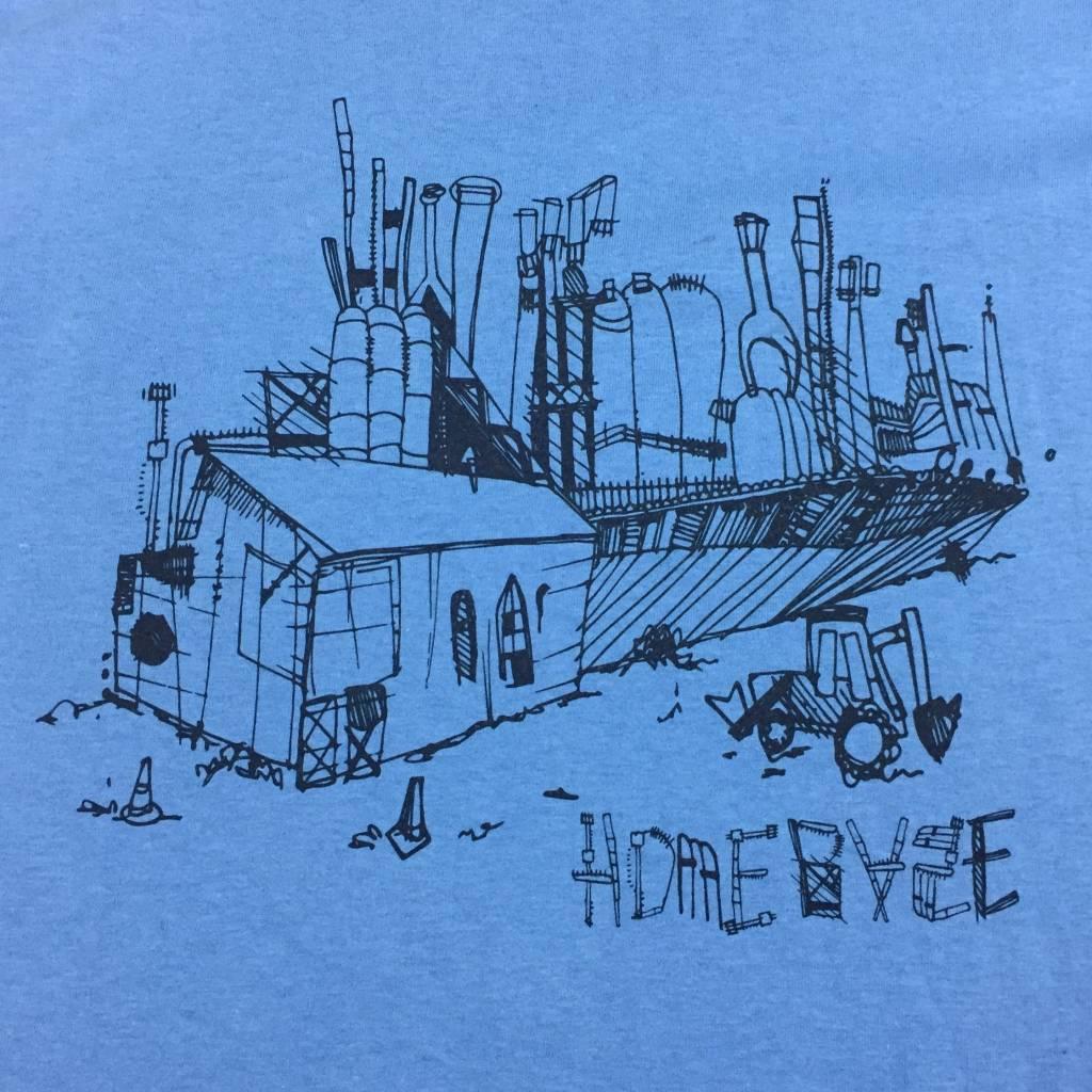 HOMEBASE SOFTGOODS Steel Sketch Ringer T-Shirt Blue