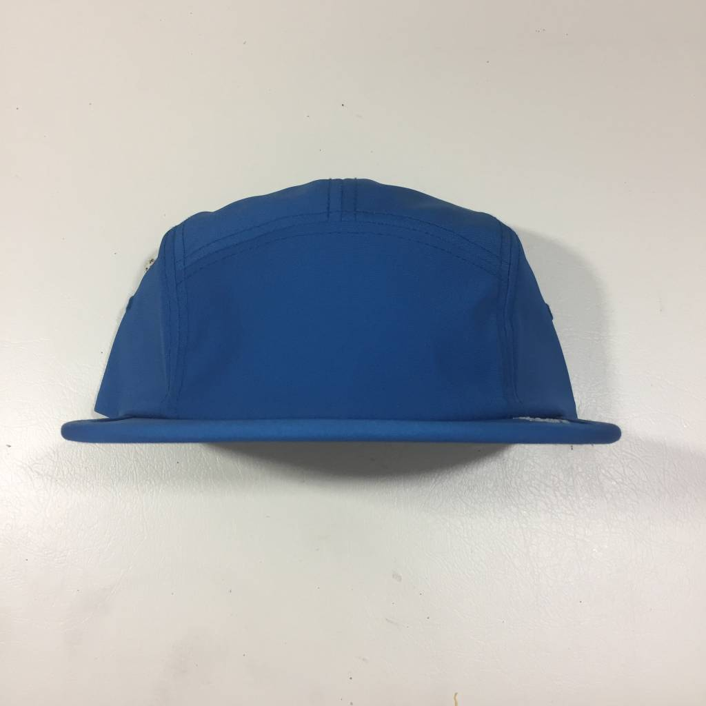STUSSY Poly Oxford Camp Hat Blue