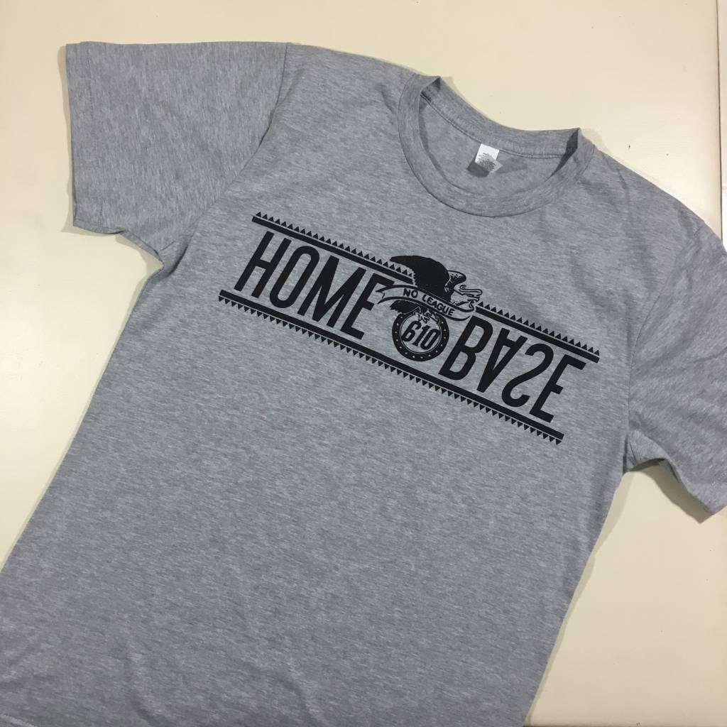 HOMEBASE SOFTGOODS No League T-shirt Grey