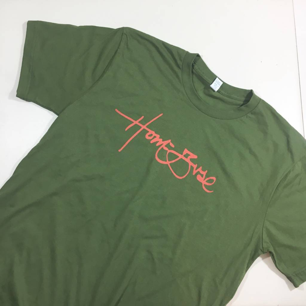 HOMEBASE SOFTGOODS Signature T-shirt Olive
