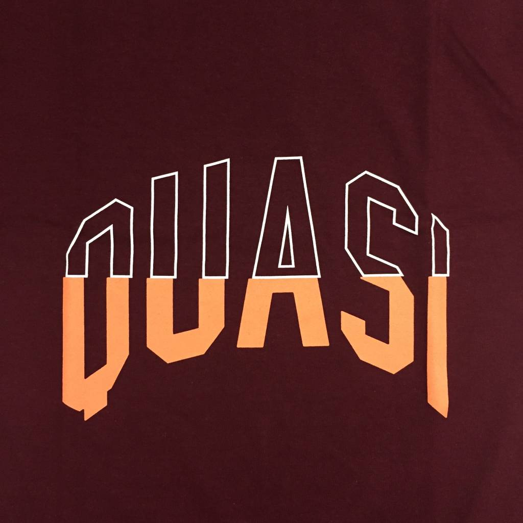QUASI Arc T-Shirt Burgundy