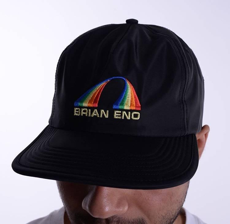 QUASI Brain Eno Snapback Hat Black
