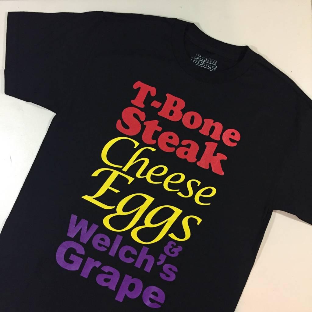 T-Bone Steak T-Shirt Black MD