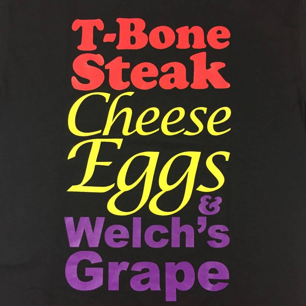 FOR ALL TO ENVY T-Bone Steak T-Shirt Black MD