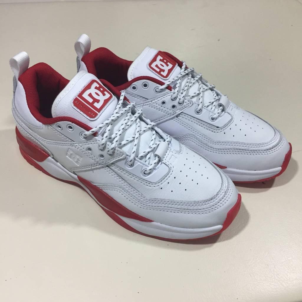 DC SKATE SHOE CO. E.Tribeka JS Shoe White Red