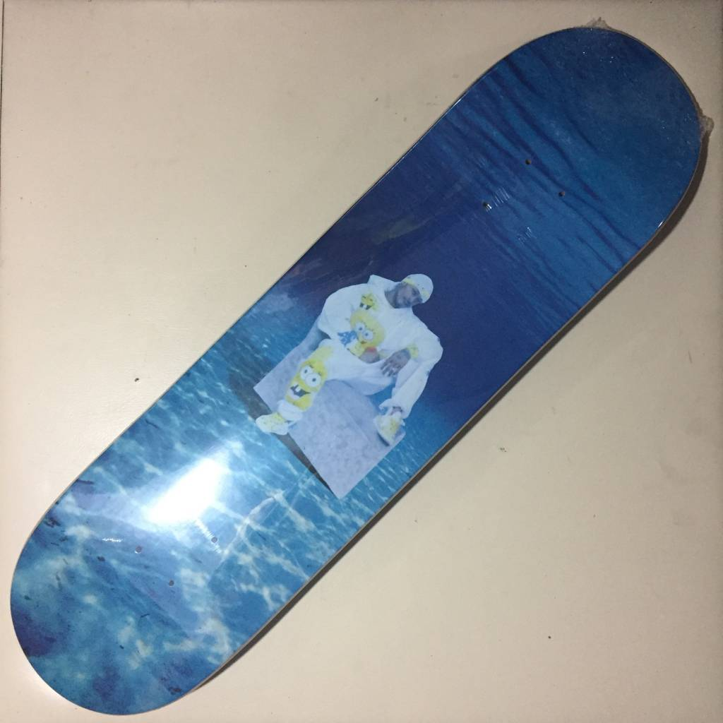 SQUARE UP SKATEBOARDS Square Up Under The Sea Deck 8.38