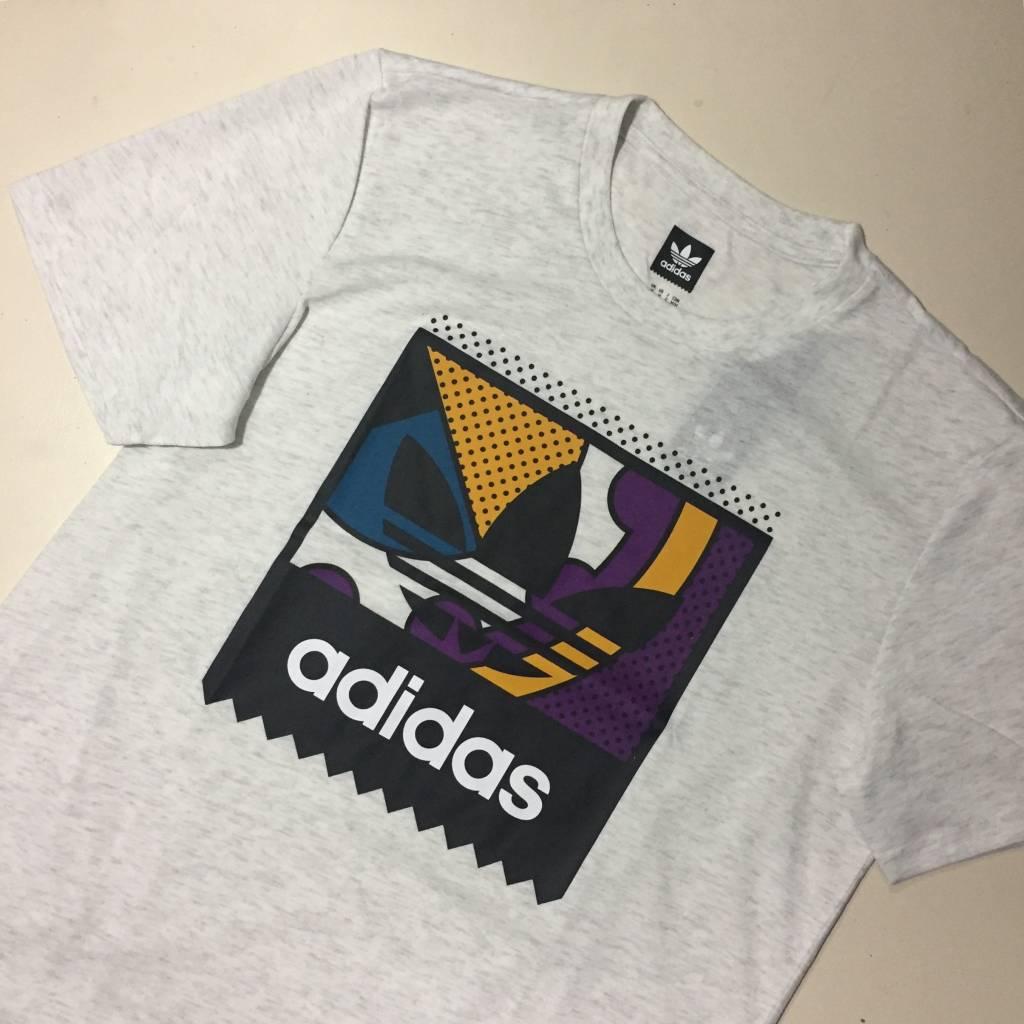 ADIDAS FOOTWEAR Cog Logo T-Shirt Heather