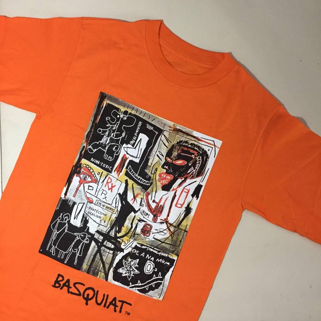 Diamond x Basquiat Prescription LS T-Shirt Orange