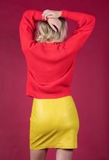 Mink Pink PU Mini Skirt