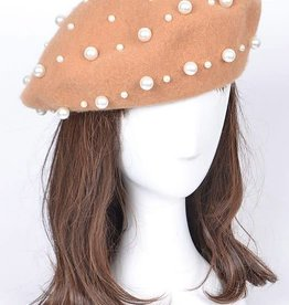 Bag Boutique Pearl Beret Hat