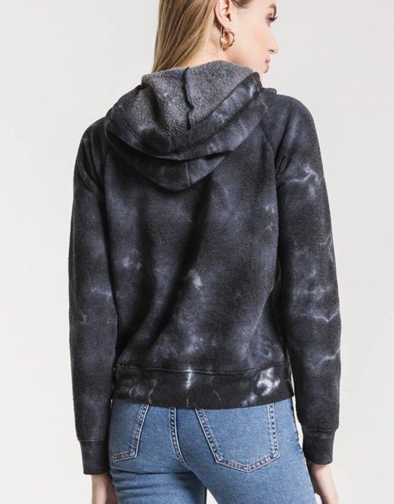 Z Supply Tie-Dye Loft Fleece Hoodie