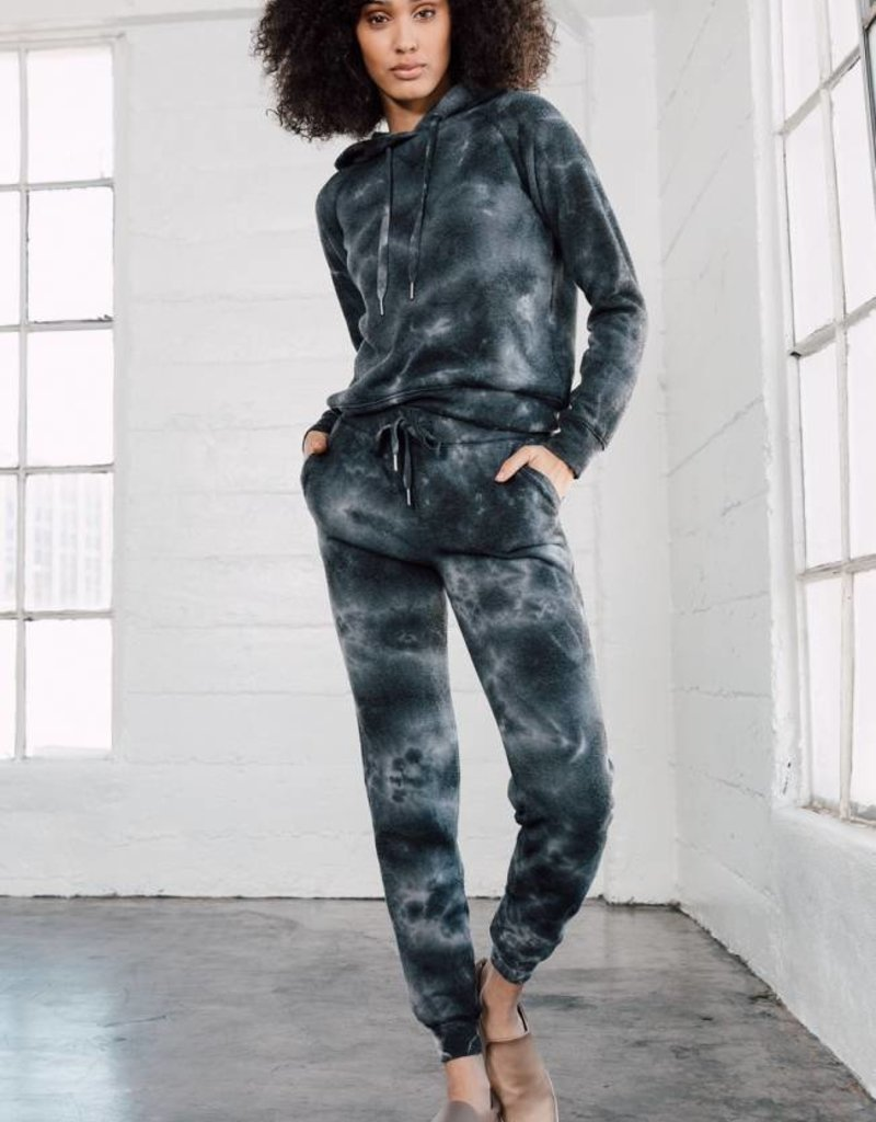 Z Supply Tie-Dye Loft Fleece Jogger Pant