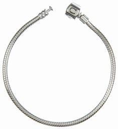 "Chamilia Bracelet- Silver Snap 9.1"""