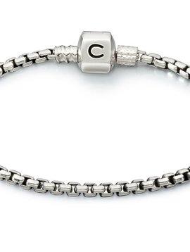 Chamilia Box Chain Bracelet 7.9&quot;<br />Bracelet - Silver Snap<br />Bracelet - Silver Snap<br />Bracelet - Silver Snap 6.7&quot;
