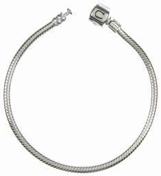 Chamilia Bracelet- Silver Snap 7.5