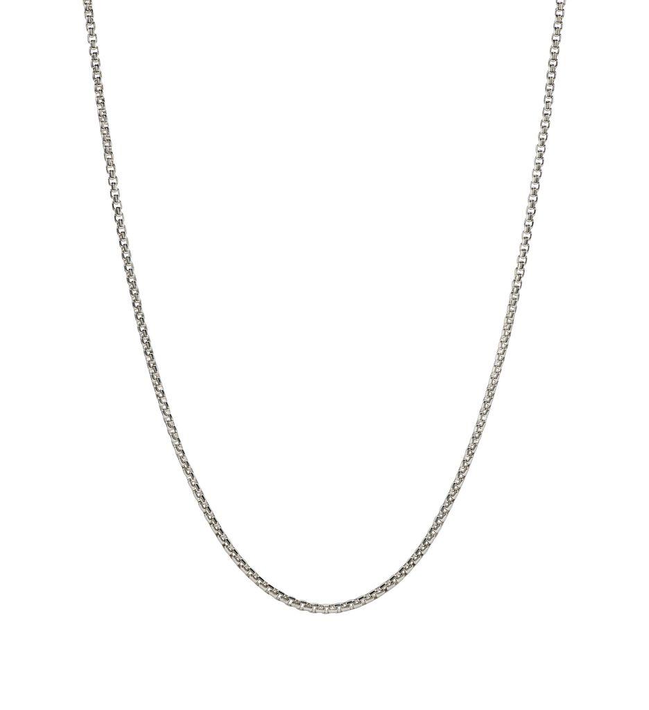 """Chamilia 18"""" Adjustable Necklace, Bright Box Chain"""