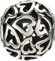 Chamilia Captured Hearts Bead