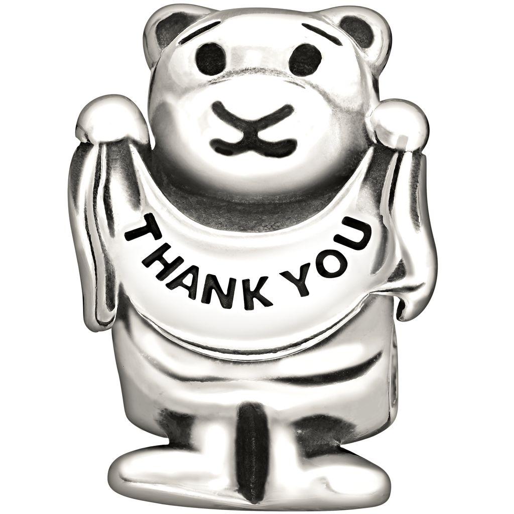 Chamilia Chamilia Thank You Bearly Much Bead