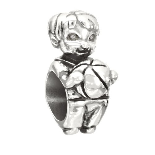 Chamilia Snips & Snails Little Boy Bead