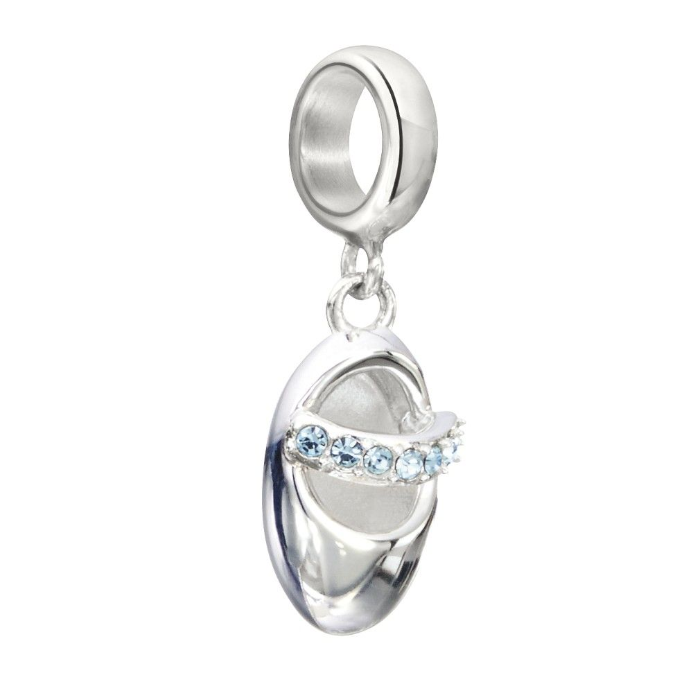 Chamilia Twinkle Toes - Aquamarine Bead