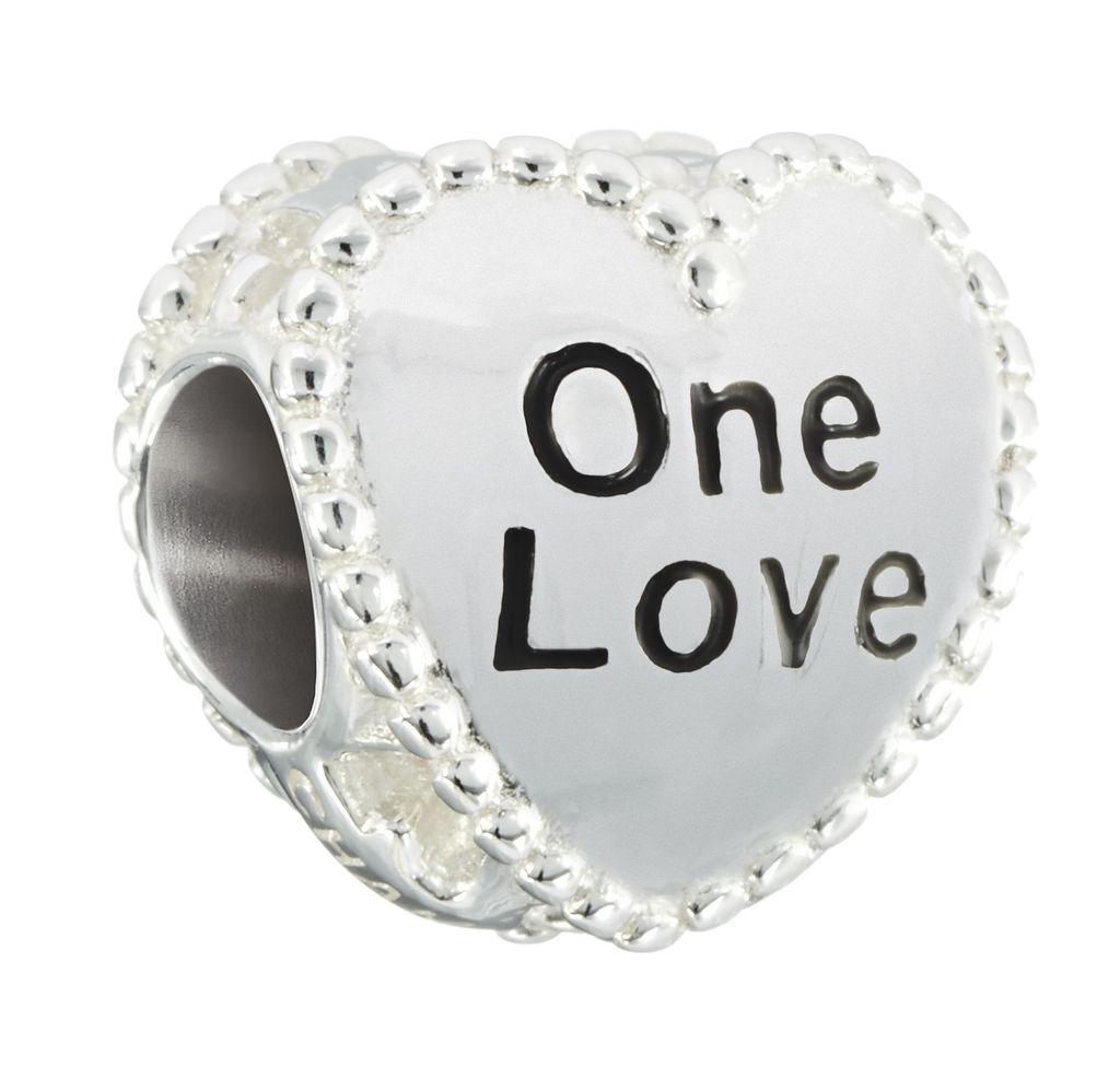 "Chamilia ""One Love"" Candy Heart Bead"