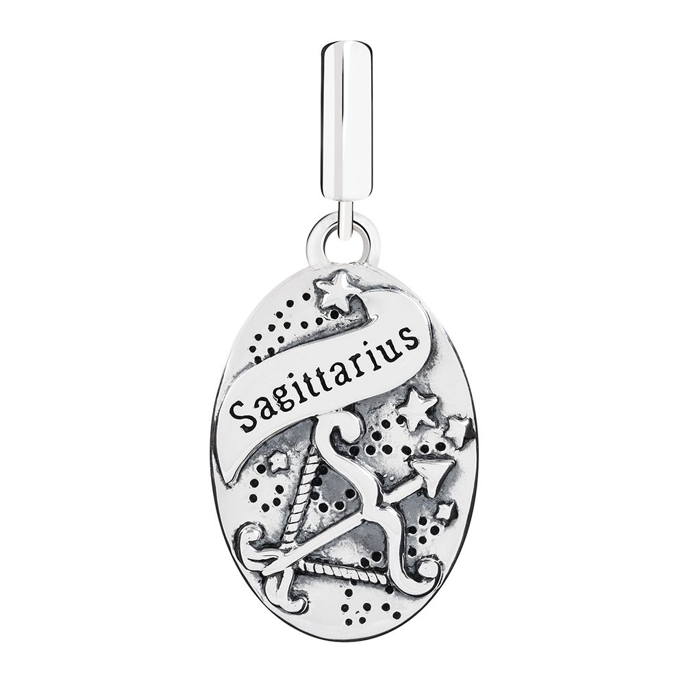 Chamilia Sagittarius Zodiac Charm