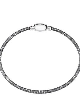 Chamilia Medium Oval Touch Bracelet - Oxidized