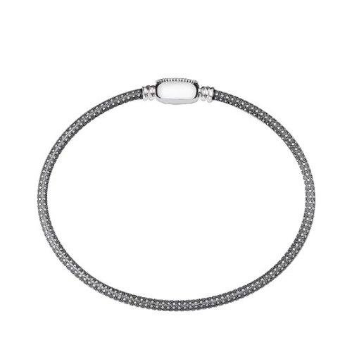 Chamilia Large Oval Touch Bracelet - Oxidized