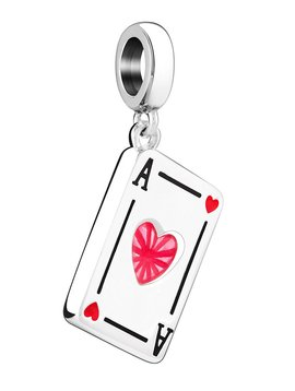 Chamilia Ace of Hearts Card Bead