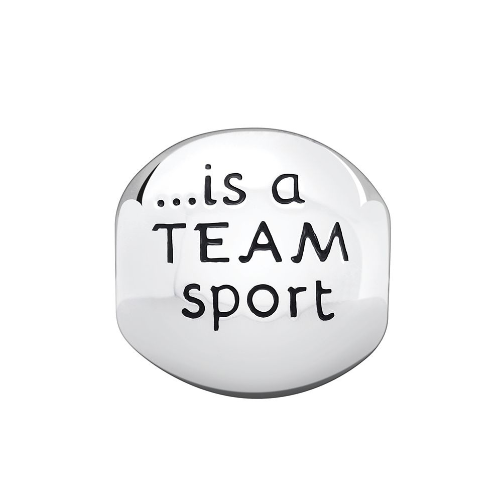 Chamilia Life is a Team Sport Bead