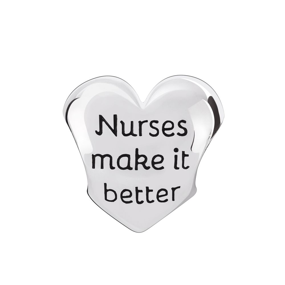 Chamilia Heart of a Nurse Bead