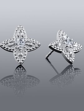 Chamilia Four Hearts Earrings