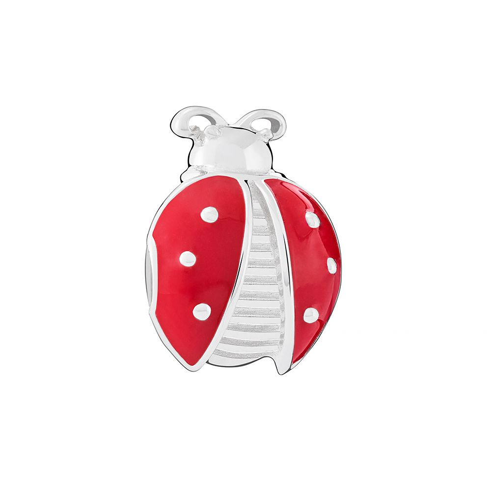 Chamilia Red Ladybug Bead